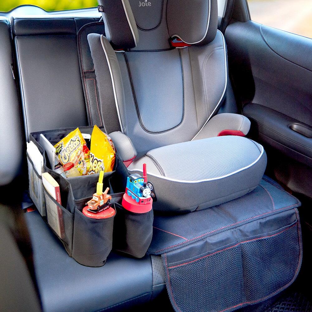 Bluemall Car Back Seat Organizer Ikross Car Console Storage Bins