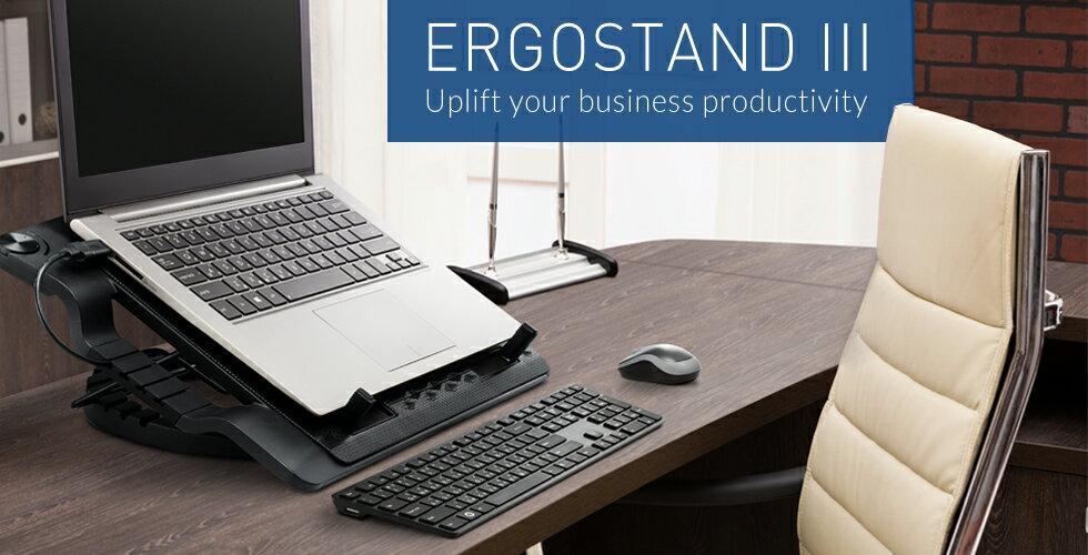 【迪特軍3C】COOLMASTER ERGOSTAND III 可調式風扇 筆記型散熱墊 散熱墊 散熱器