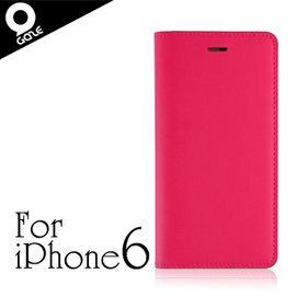 代理正品 韓國設計製造 LAYBLOCK 手工真皮採小牛皮材質 iPhone 6 / 6S 4.7吋 保護套 皮套 保護殼 -粉紅