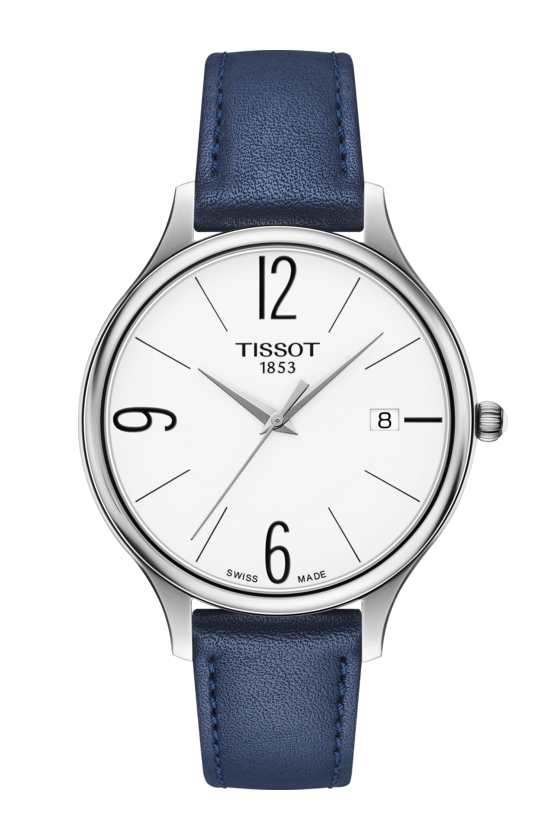TISSOT 天梭 T1032101601700 BELLA ORA 皮帶石英女腕錶 38mm 0
