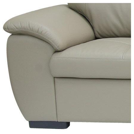 ◎(OUTLET)半皮左躺椅L型沙發 CAPUCCINO BE 福利品 NITORI宜得利家居 4