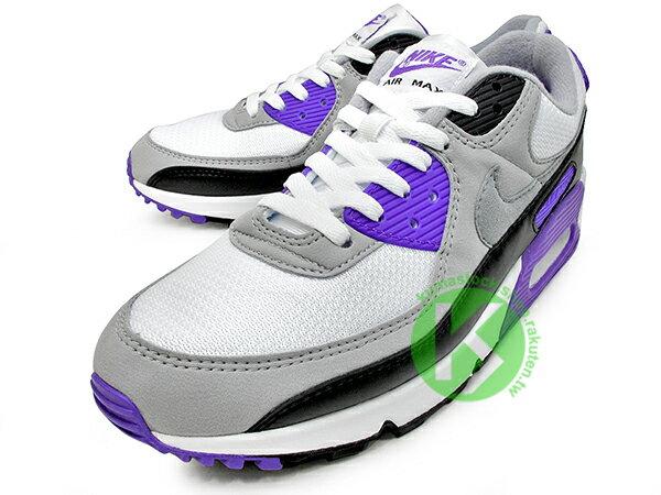 2020 經典復刻慢跑鞋 OG 版型 NIKE AIR MAX 90 白灰黑 紫 網布 絨毛面 大氣墊 慢跑鞋 (CD0881-104) 0120 1