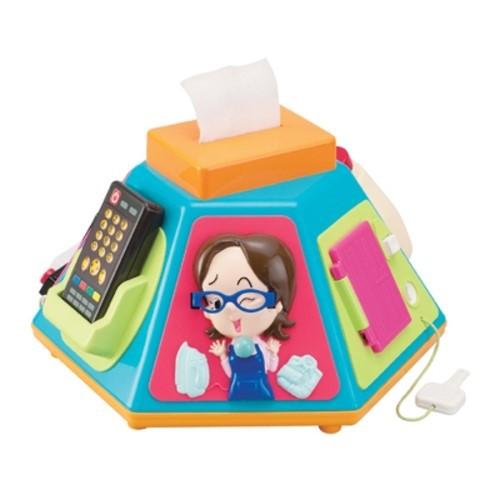麗嬰兒童玩具館~日本People專櫃安全玩具-新超級多功能七面遊戲機-公司貨(改版新款) 0