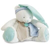 彌月禮盒推薦Doudou 條紋藍綠兔大布偶 (40cm)