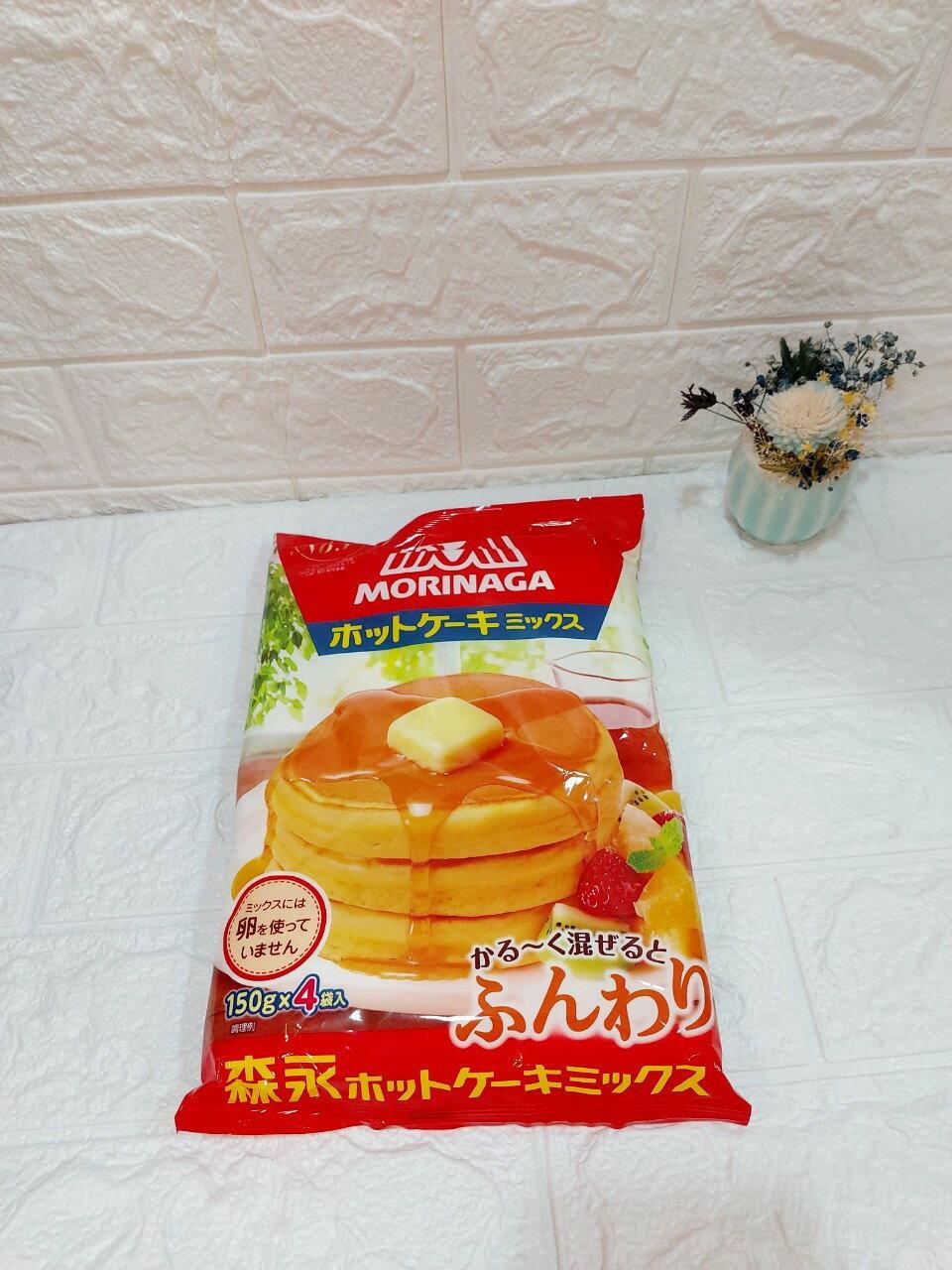 日本森永德用鬆餅粉600g /袋(150g*4入/袋)