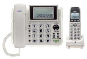 聲寶 CT-W1305DL2.4GHz高頻數位無線電話-白