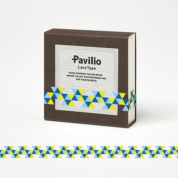 【日本Pavilio】風格膠帶MINI系列F-MI18CB奇利多(藍)捲