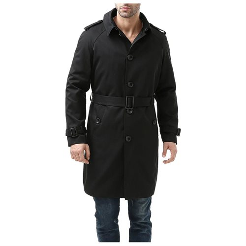 best website sale usa online 50-70%off Luxury Lane: BGSD Men's Ethan Traditional Waterproof Single Breasted Trench  Coat | Rakuten.com