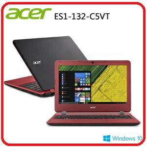 ACER ES1-132 11.6吋 紅/黑 兩色筆電 N3350/11.6吋/2G/32G/W10