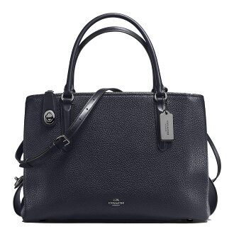 COACH brooklyn carryall 34 in pebble leather 57276