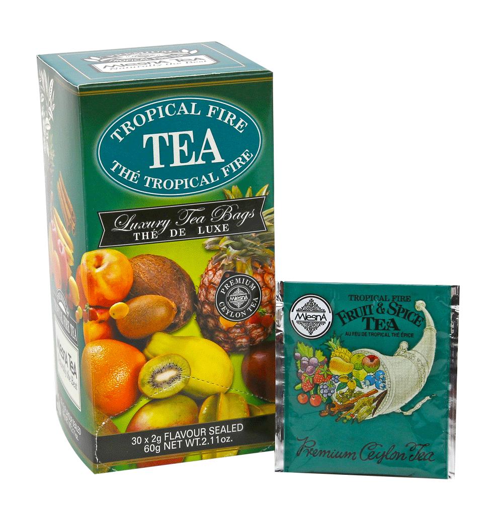 曼斯納 MlesnA - Tropical Fire 熱帶風情紅茶 (30入/盒) 錫蘭紅茶/茶包/茶葉