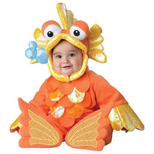 Giggly Goldfish Baby Costume - Animal Costumes 0
