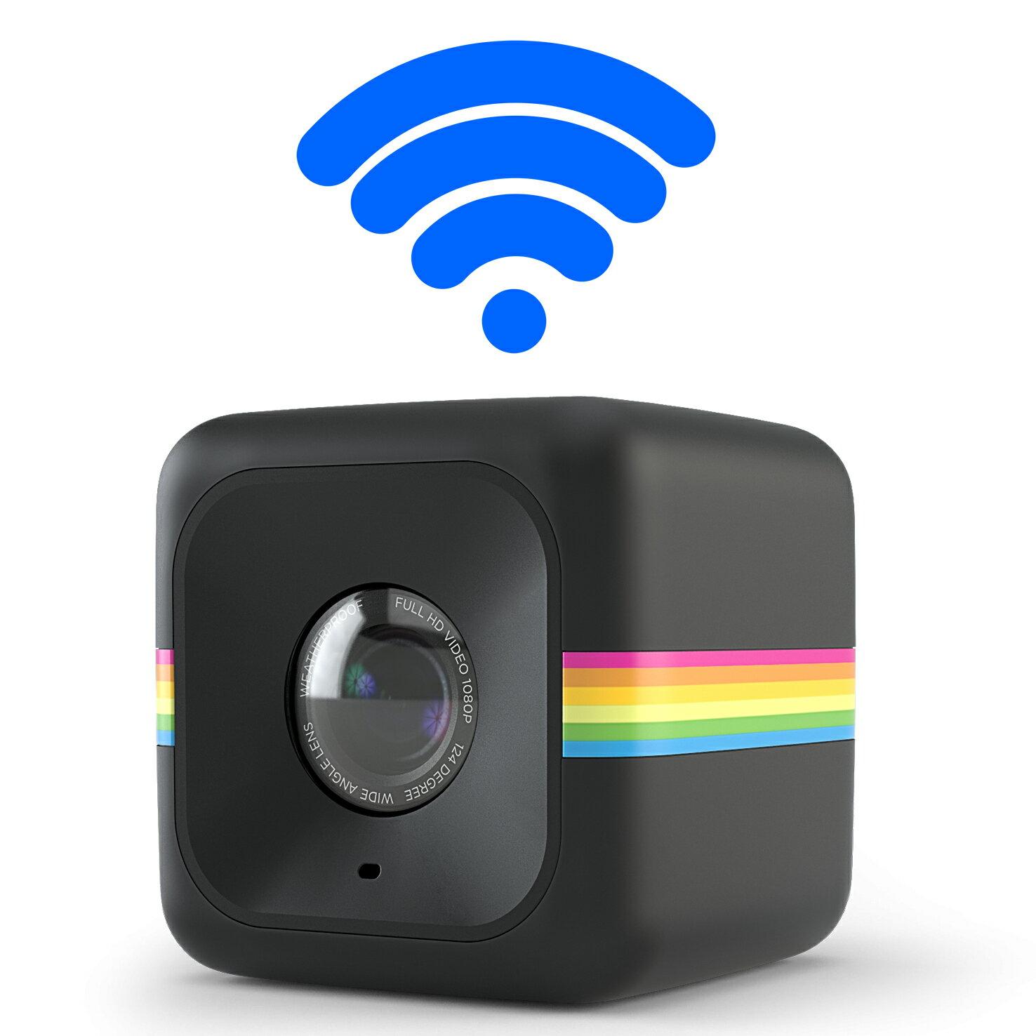 【和信嘉】Polaroid Cube+ 骰子相機(黑色) WIFI 迷你行動攝影機 公司貨 原廠保固一年