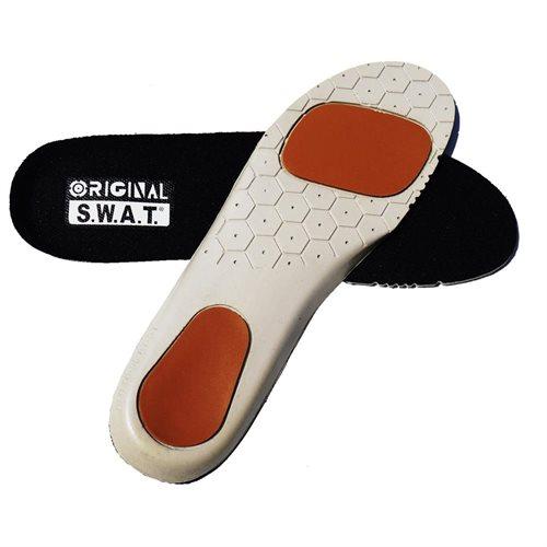 Original Swat Custom Molded Orthotic Polyurethane Insole w/Poron Heel Size 6 0