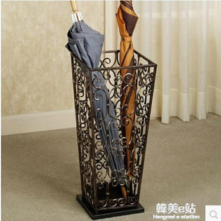 拉奧孔 家用雨傘架 雨傘收納桶 鐵藝雨傘收納酒店大堂創意雨傘桶ATF