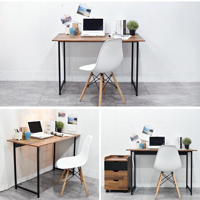 電腦桌 / 桌 / 書桌 木紋風105x55x75cm工作桌電腦桌 凱堡家居【B04790】 3