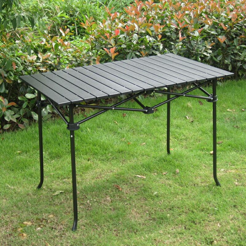 鋁桌折疊桌 戶外折疊鋁桌 烤肉桌露營休閑桌 長95cm