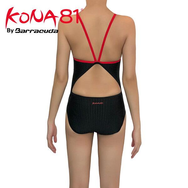 美國巴洛酷達BarracudaKONA81細肩帶挖背抗UV連身泳裝