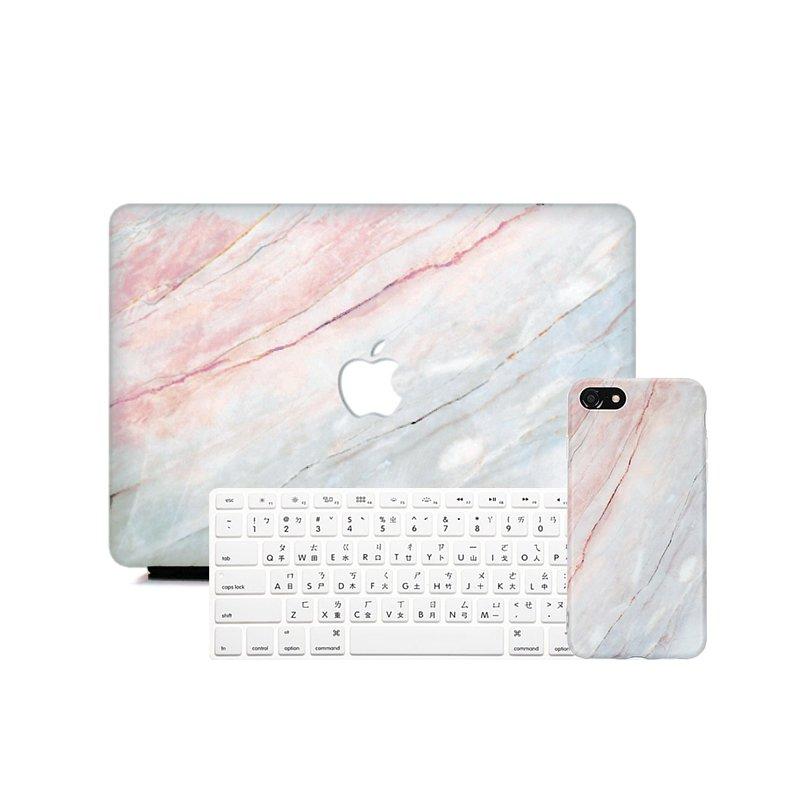霞彩大理石超值Apple三件套裝  APPLE Air 13 Pro 13 Macbook 12 防摔
