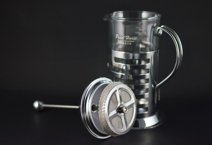 【曼珈咖啡】寶馬 全柄濾壓壺 350ml 1