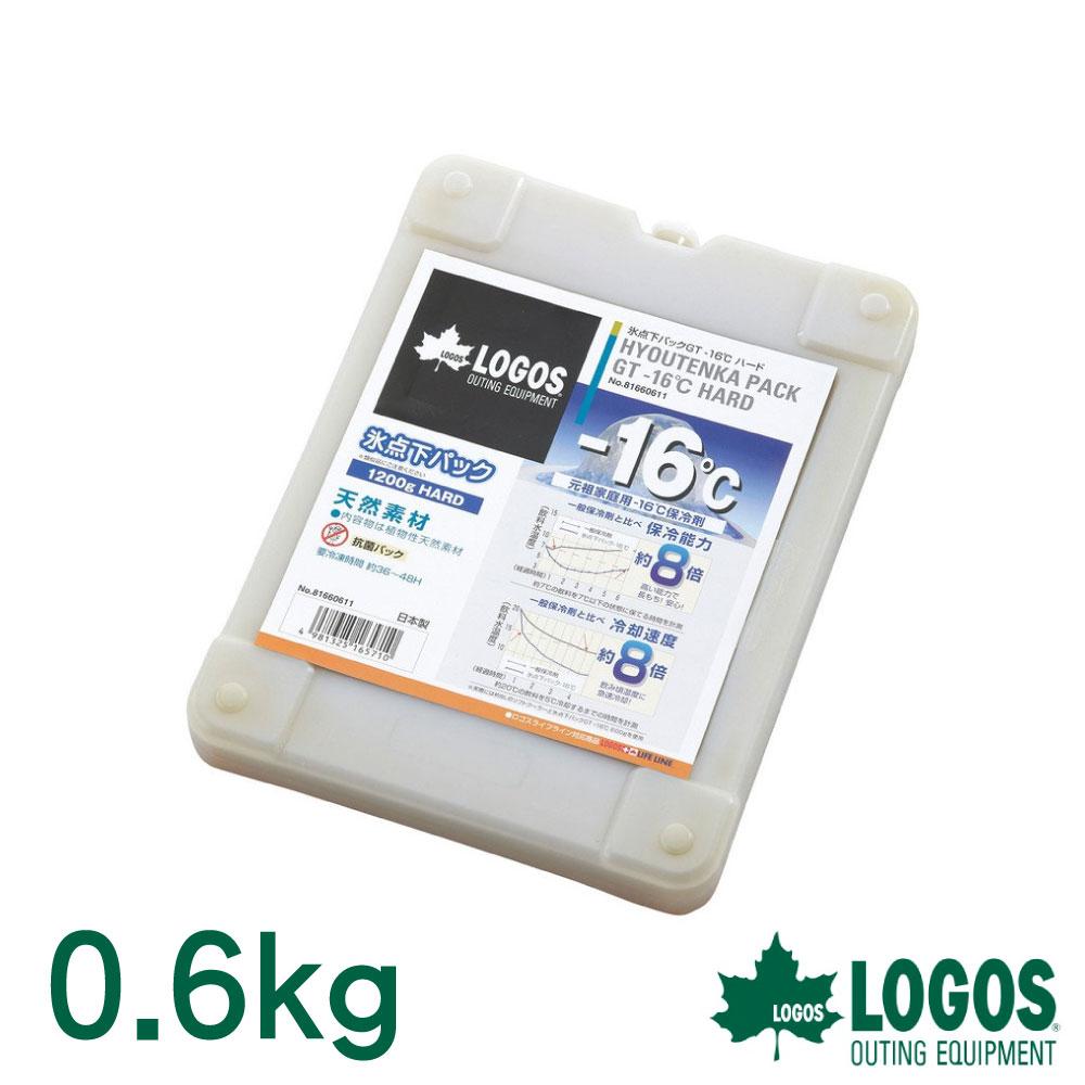 【日本LOGOS】GT-16℃ 日式超凍媒0.6kg 冷媒 冰桶 冰磚保冷劑 保冷磚 環保冰塊 戶外 露營 野餐 81660612