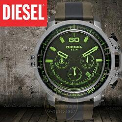 DIESEL國際品牌DEADEYE防彈狙擊手計時腕錶DZ4407公司貨/另類設計/禮物