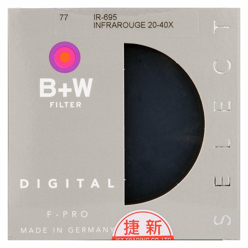 ◎相機專家◎ B+W F-Pro 40.5mm 092 Infrared red 紅外線濾鏡 IR-695 捷新公司貨