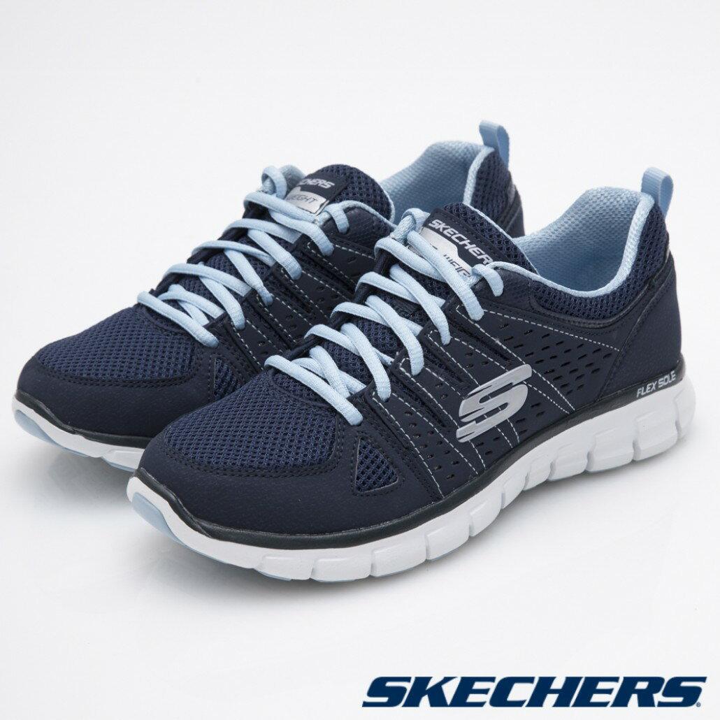 [ALPHA] SKECHERS SYNERGY 11963NVLB 女鞋 跑鞋 記憶型泡棉鞋墊