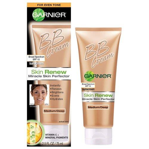 Garnier Skin Renew Miracle Skin Perfector B.b. Cream, Medium And Deep, 2.5 Fluid Ounce 0