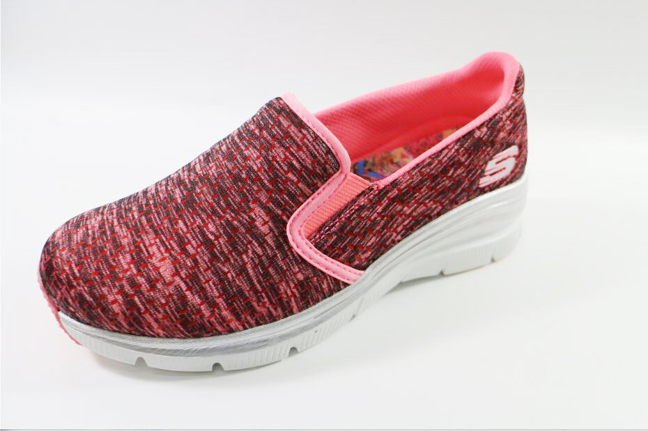 SKECHERS女款 休閒增高 AIR-COOLED MEMORY FOAM-12705 CRL [陽光樂活]