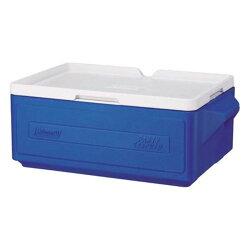 《台南悠活運動家》COLEMAN CM-1326 藍色 23.5L可疊放置物型冰桶