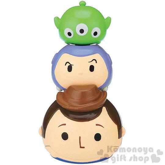 〔小禮堂〕迪士尼 TSUM TSUM 音控搖擺玩具《小.綠.胡迪.朋友堆疊》