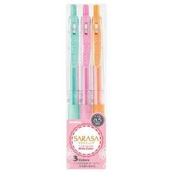 ZEBRA  SARASA CLIP 牛奶鋼珠筆  3色組