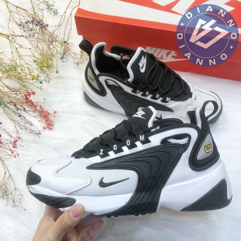 帝安諾-Nike Zoom 2K White Black 白黑 黑白復古 經典老爹 熊貓 AO0354-100► 618天天領券現折120
