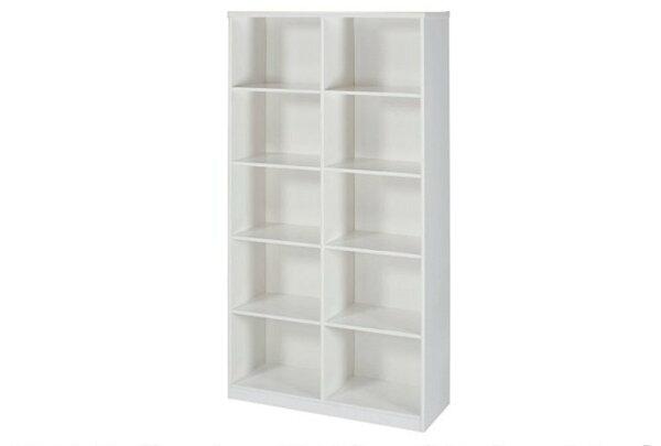 石川家居:【石川家居】935-05白色書櫃(CT-904)#訂製預購款式#環保塑鋼P無毒防霉易清潔