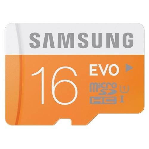 Samsung EVO 16GB microSDHC Class 10 16G microSD micro SD SDHC 48MB/s UHS-I C10 MB-MP16D with Plastic Case 0