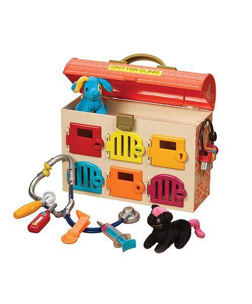 【B.Toys】可麗特寵物診所 (芬達橘)