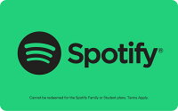 Deals on Spotify 12-Month Premium Subscription