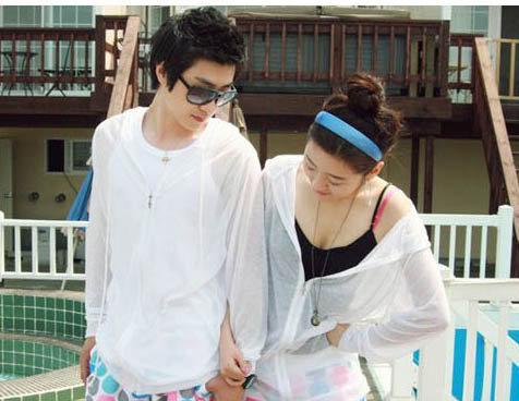 來福,V18泳池防曬純色外套遮陽小罩衫游泳搭泳衣泳裝,售價350元