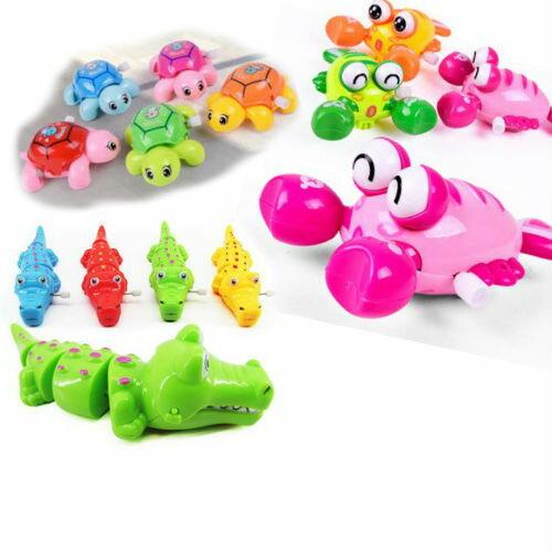 ★超葳★ 兒童發條玩具 Q版 龍蝦 搖搖 鱷魚 小烏龜