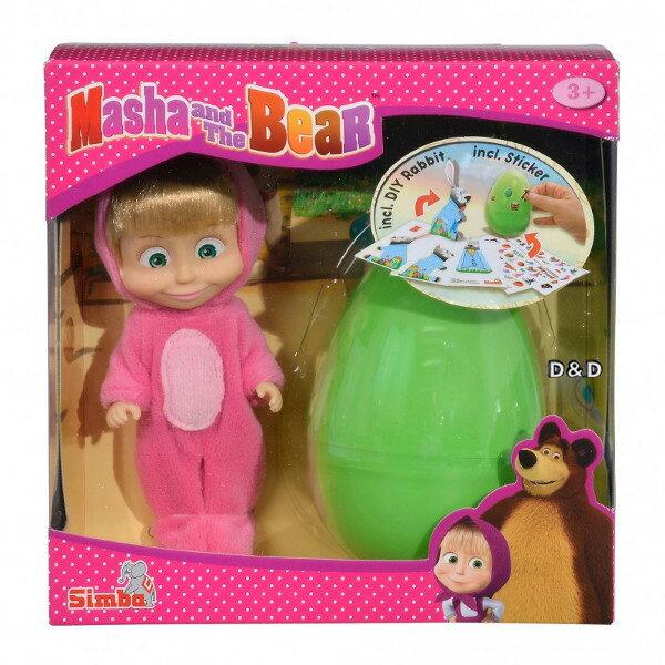 《瑪莎與熊mashabear》瑪莎兔子裝飾蛋