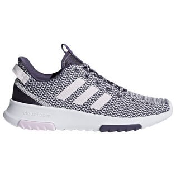 AdidasCFRacerTR女鞋慢跑休閒緩震粉紫白【運動世界】DB0444