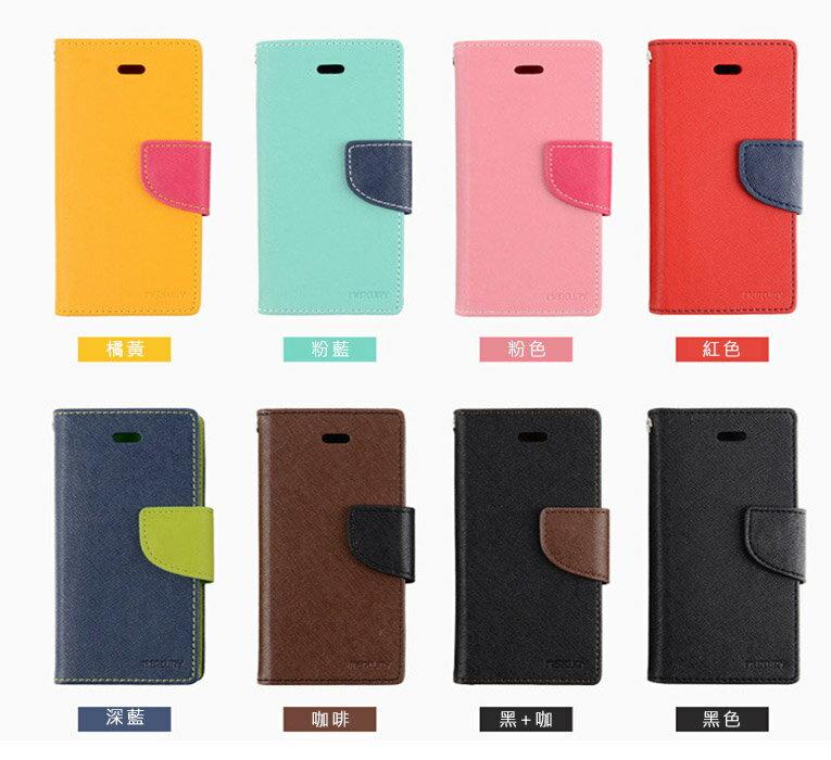 韓國Mercury雙色側翻手機皮套/可立式 0