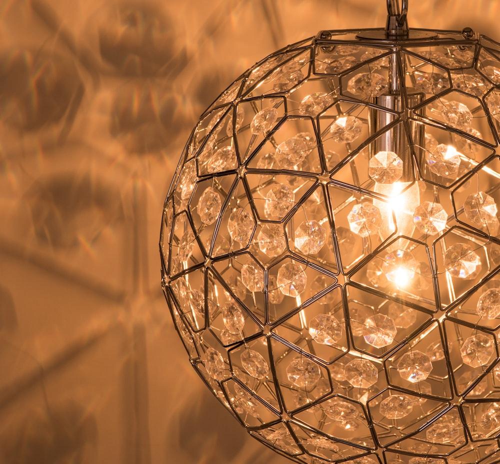 圓形幾何圖案壓克力吊燈-BNL00069 8