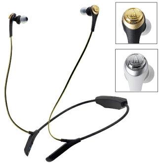 audio-technica 鐵三角 ATH-CKS550BT 金色 藍芽無線耳機麥克風組 內建高音質耳機擴大機
