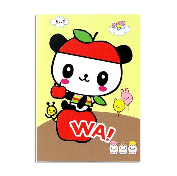 【888便利購】卡通流行筆記本(空白內頁)(封面圖案多款隨機)