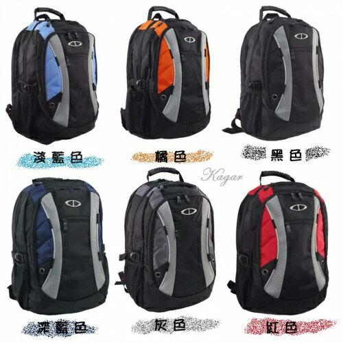 【加賀皮件】TATI大容量多色可挑選輕便外出風可放17吋筆電後背包書包外出包【ST886】