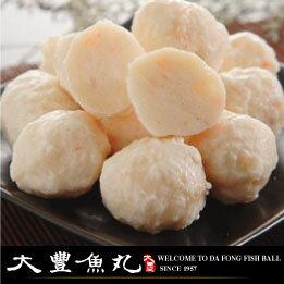 【大豐魚丸】火鍋料鍋物專家-花枝丸-(大顆)300g-海鮮鍋必備