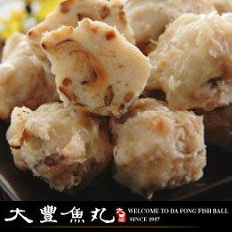 【大豐魚丸】火鍋料鍋物專家--香菇旗魚丸--600g大份
