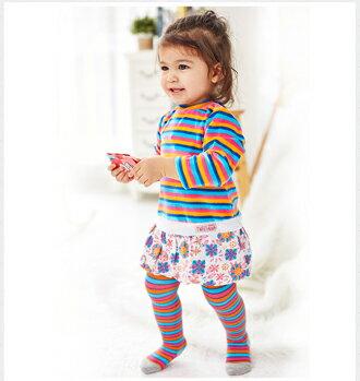 ☆Babybol☆女童冬裝兩件套, 套裝包含(裙子、褲襪)【24105】 0